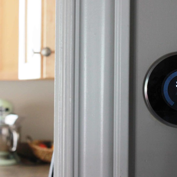 Nest-thermostat-in-home